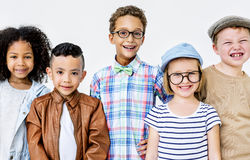 Children Kids Casual Offspring Adorable Youth Concept Stock Image