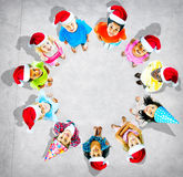 Children Kids Cheerful Childhood Diversity Concept Royalty Free Stock Photos