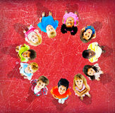 Children Kids Cheerful Childhood Diversity Concept Royalty Free Stock Image