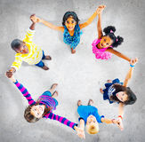 Children Kids Cheerful Unity Diversity Concept royalty free stock images