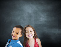 Children Kids Diversity Education Happiness Cheerful Concept Stock Image