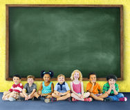 Children Kids Education Learning Cheerful Concept.  Stock Photography