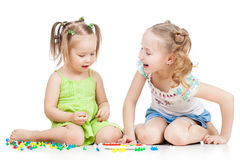 Children kids play Royalty Free Stock Images