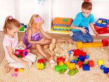 Children in kindergarten. Royalty Free Stock Photos