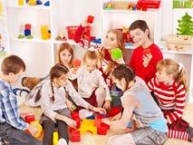 Children in kindergarten. Stock Images