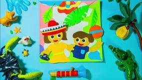 Children kindergarten advertisement commercial animation