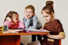 Children in kindergarten Royalty Free Stock Images