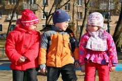 Children in kindergarten2 Stock Photos