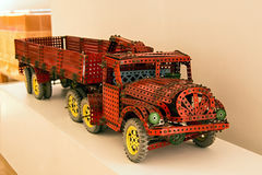 Children Kit Merkur - Truck Royalty Free Stock Photography