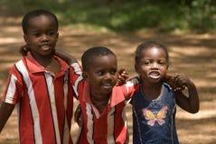 Children, Kizimbani, Zanzibar, Tanzania Stock Photography