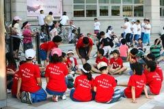 Children korean Stock Image