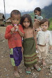 Children in Laos Royalty Free Stock Photography