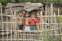 Children in Laos Royalty Free Stock Photos