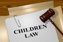Children Law concept Stock Images
