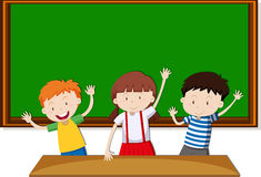 Children learning in the classroom Stock Photography