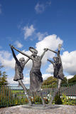 Children of lir statues Royalty Free Stock Photo