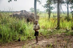 Children living in the Village near Mbale city in Uganda, Africa Stock Photos