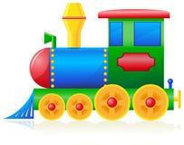 Children locomotive vector illustration Royalty Free Stock Photo