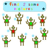 Children Logic develops an educational game Royalty Free Stock Images