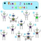 Children Logic develops an educational game Stock Image
