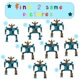 Children Logic develops an educational game Stock Photo