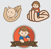 Children logo Stock Photography