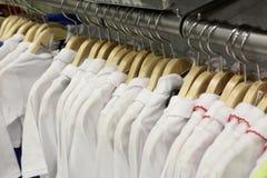 Children long sleeve shirts Royalty Free Stock Photos