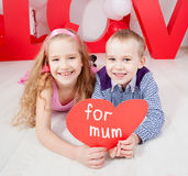 Children love Royalty Free Stock Photography