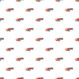 Children machine pattern, cartoon style Stock Photo