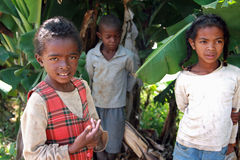 Children of Madagascar Royalty Free Stock Photos