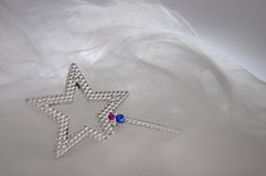 Children magic wand for fairy tales Stock Photos