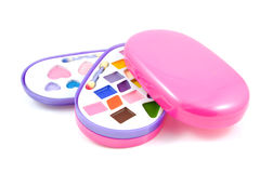 Children makeup kit Royalty Free Stock Photos