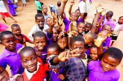 Children in Malawi, Africa Royalty Free Stock Images