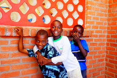 Children in Malawi, Africa Royalty Free Stock Photos