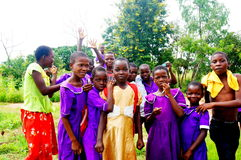 Children in Malawi, Africa Stock Images