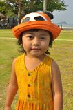 Children - A Malay child posing stock images