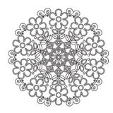 Children mandala for coloring. Royalty Free Stock Image