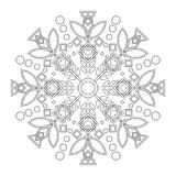 Children mandala with Lily. Stock Photography