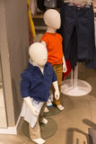 Children mannequins Royalty Free Stock Images