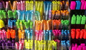 Children Markers Pen Stock Photography