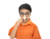 Children with mask Royalty Free Stock Image