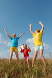 Children on a meadow Royalty Free Stock Photo