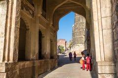 Children at Mehrangarh Fort Stock Photos