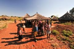 Children of Mikuni Village, Zambia Royalty Free Stock Photos