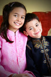 Children from mix marriage Royalty Free Stock Image