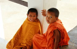 Children monk Royalty Free Stock Photos