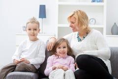 children mother Στοκ Εικόνα