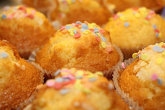 Children muffins Stock Photos