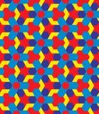 Children multicolor decorative seamless geometric pattern Stock Images