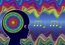 Children and Music Stock Photo